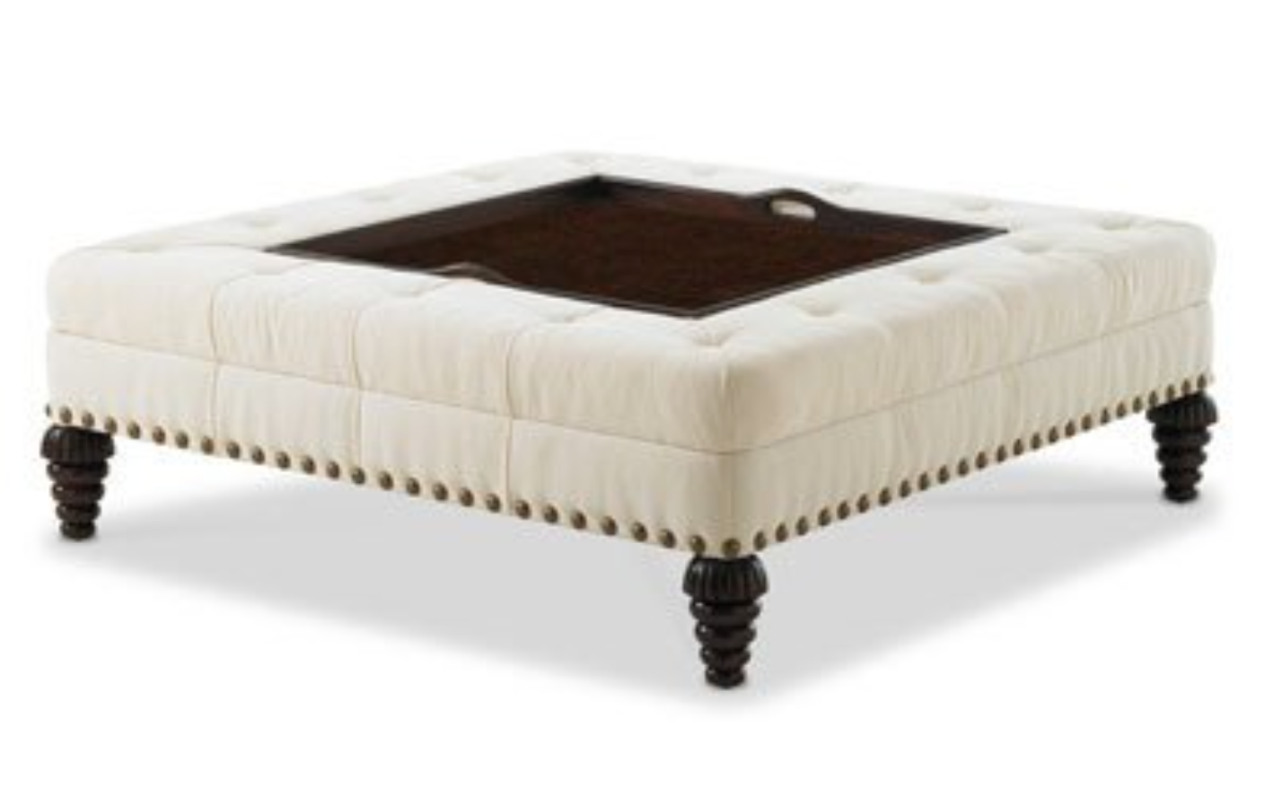 Friday Family-Friendly Find: Tray Chic Ottoman | Interiors for Families