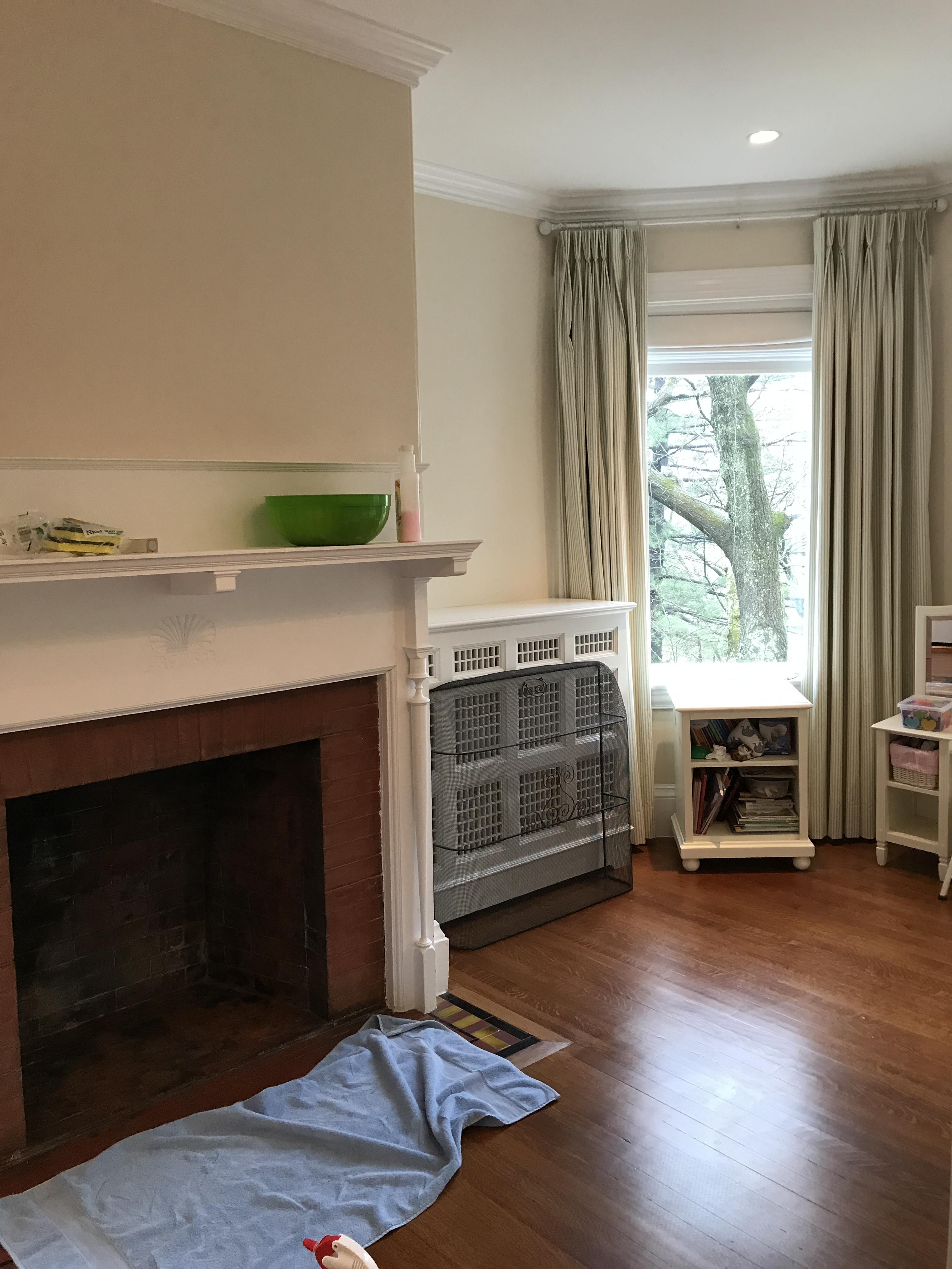 One Room Challenge Week 4: Inching Closer | Kelly Rogers Interiors | Interiors for Families
