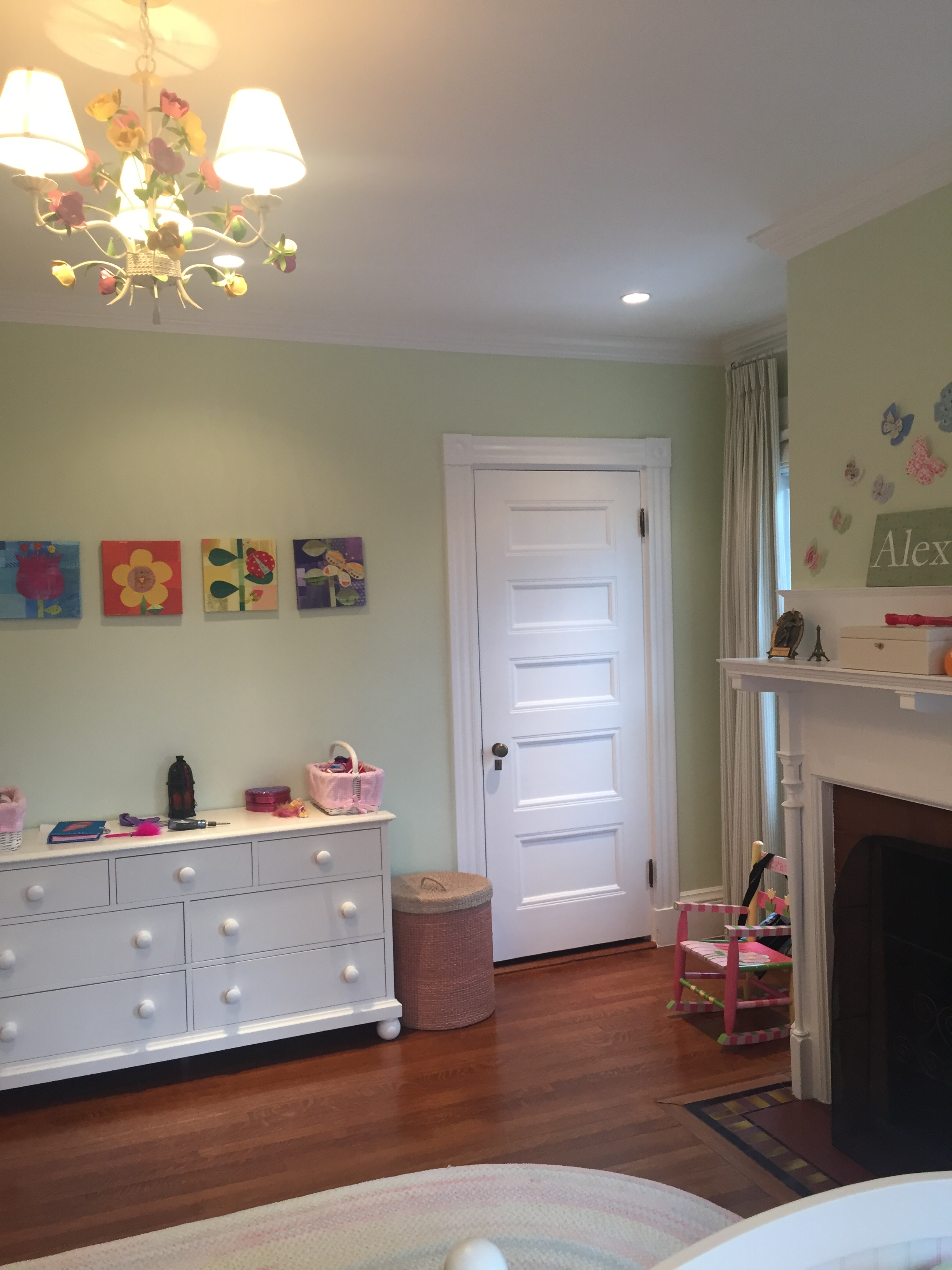One Room Challenge Week 1: Six Weeks, One Bedroom, Two Girls!   Interiors for Families   Kelly Rogers Interiors