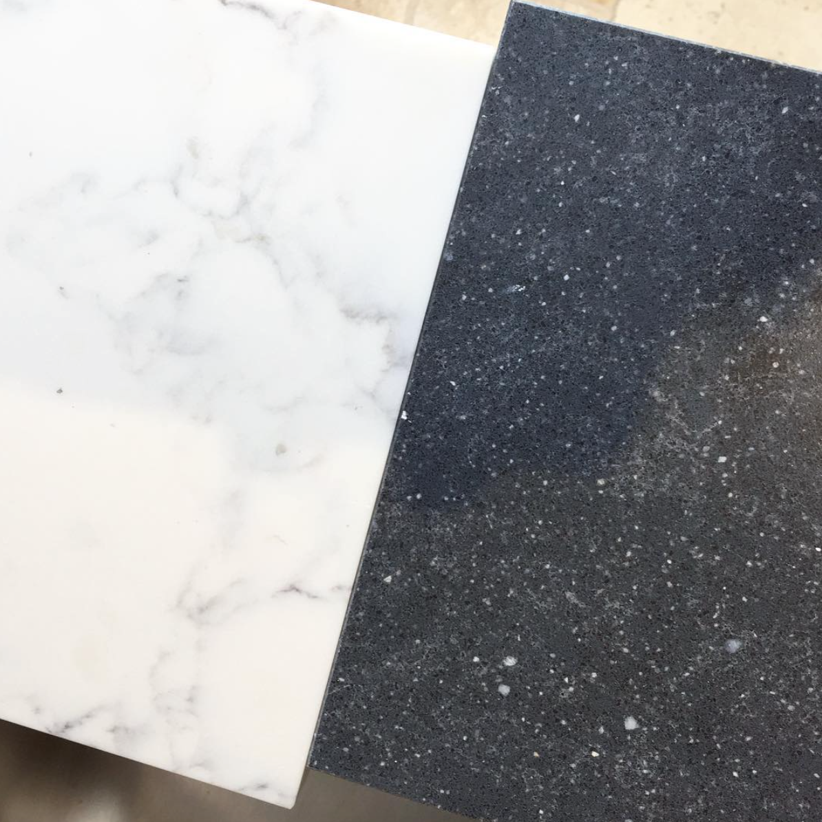 Project Update: Waban Custom Kitchen Plans (Plus, I Can't Believe it's Not Marble!) | Kelly Rogers Interiors | Interiors for Families
