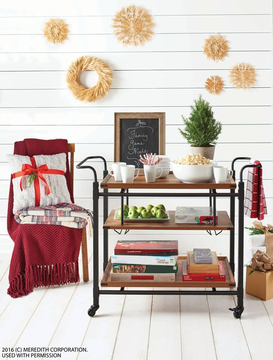 Booze-Free Bar Cart Ideas | Interiors for Families