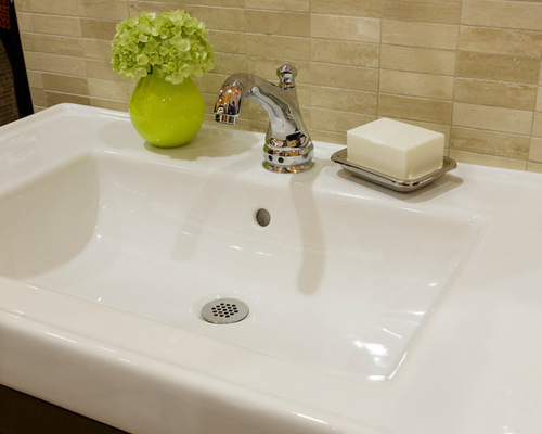 Friday Family-Friendly Find: Rohl Hex Hands-Free Lavatory Faucet | Interiors for Families