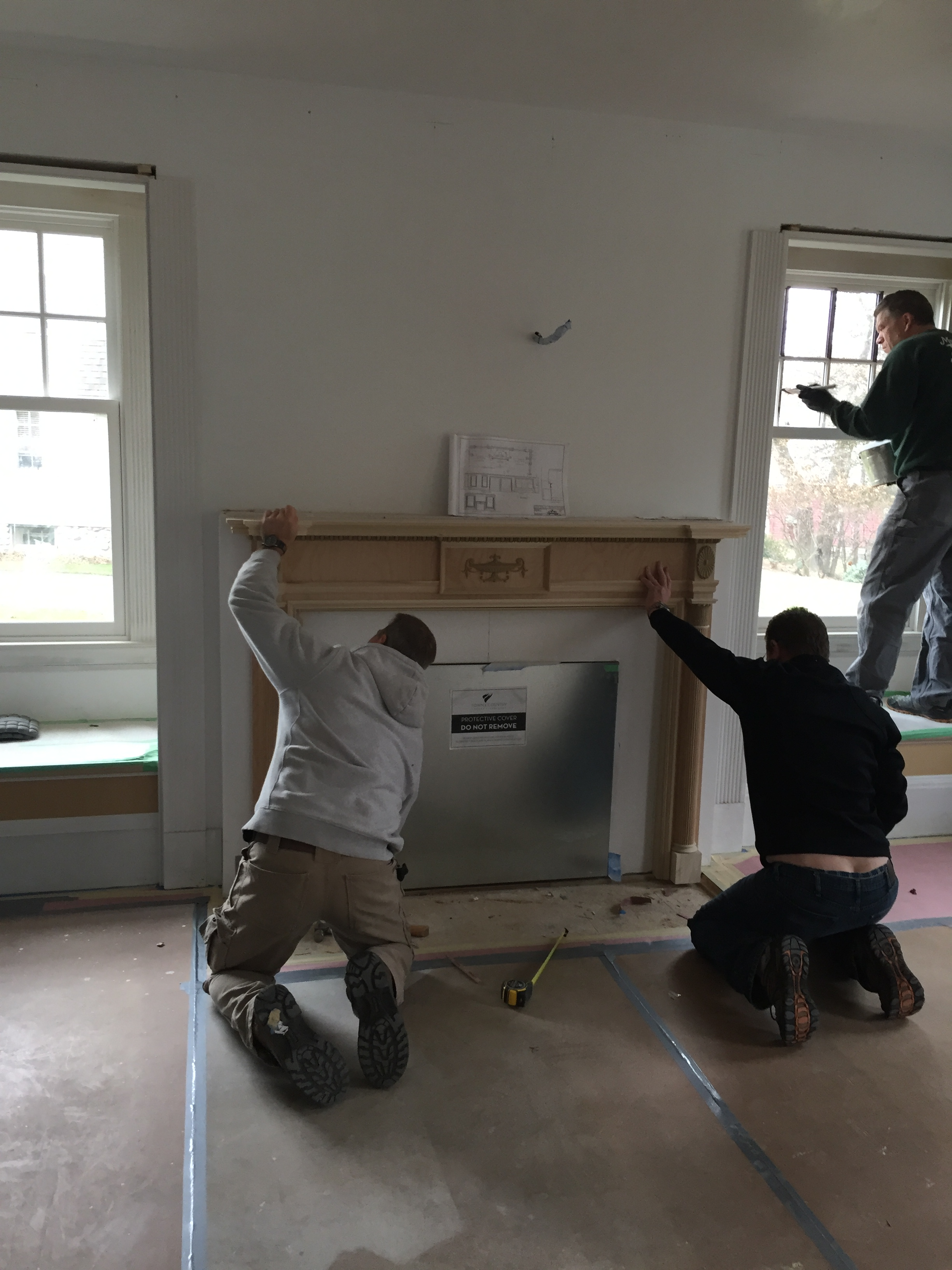 Day 231: Project 1896 (Our Home Renovation) - Christmas, Come Quickly   Kelly Rogers Interiors   Interiors for Families