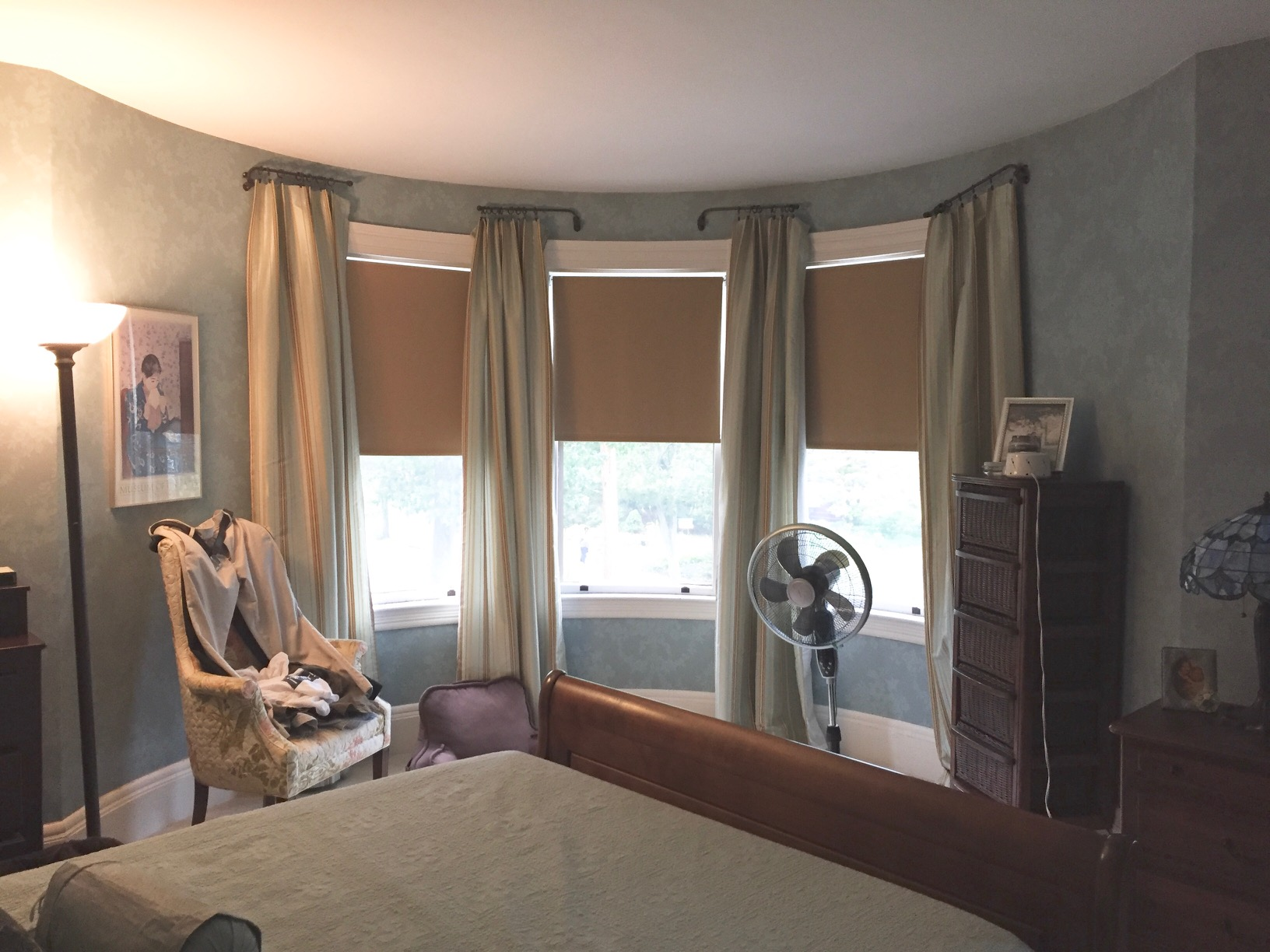 [BEFORE] Room Reveal: Fresh Victorian Master Bedroom | Kelly Rogers Interiors | Interiors for Families