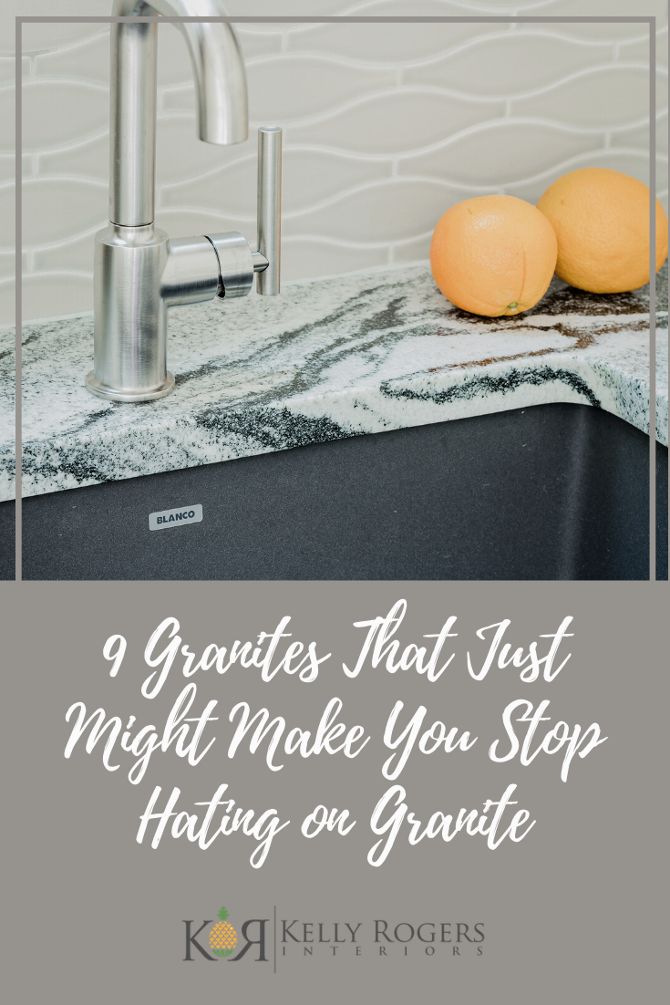 9 Granites That Just Might Make You Stop Hating on Granite | Interiors for Families | Blog of Kelly Rogers Interiors