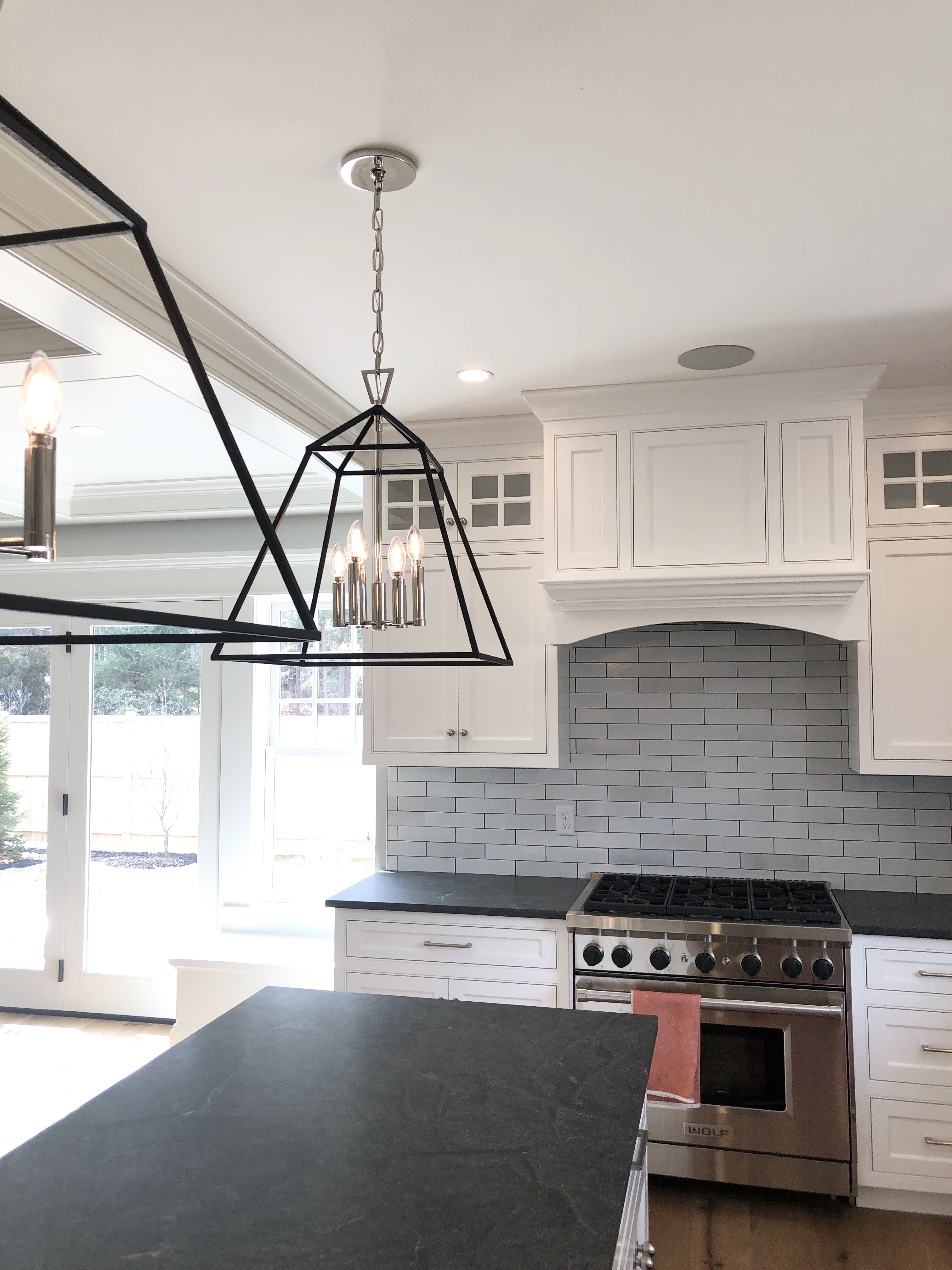 Virginia Mist / Jet Mist | 9 Granites That Just Might Make You Stop Hating on Granite | Interiors for Families | Blog of Kelly Rogers Interiors